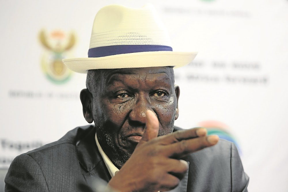 Got a new TV or fridge in the past few days? Bheki Cele wants to see the receipts or you could get arrested - TimesLIVE