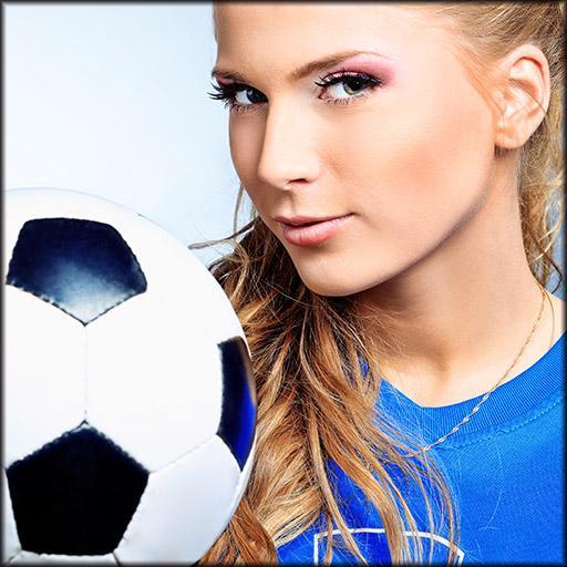 体育竞技の女子サッカーカップ LOGO-記事Game