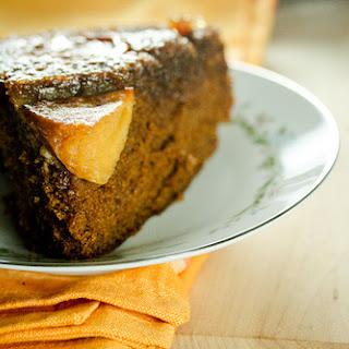 Persimmon Garam Masala Upside Down Cake