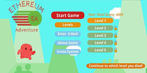 Ethereum Adventure  captures d'écran 2
