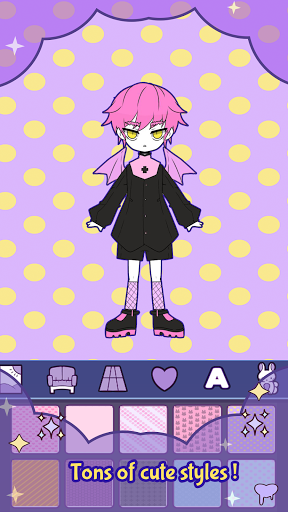 BatDoll Pastel goth dress up boy APK MOD (Astuce) screenshots 1