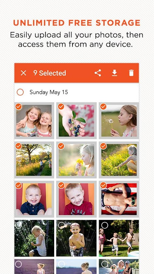 Download the Shutterfly app on iPhone and Android for safe and secure photo storage. Shutterfly provides the only photo storage service that is completely free and unlimited - and we will never delete your pictures. Photos capture your favorite moments and remind you of the important milestones in .