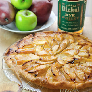 George Dickel Rye French Apple Pear Tart.