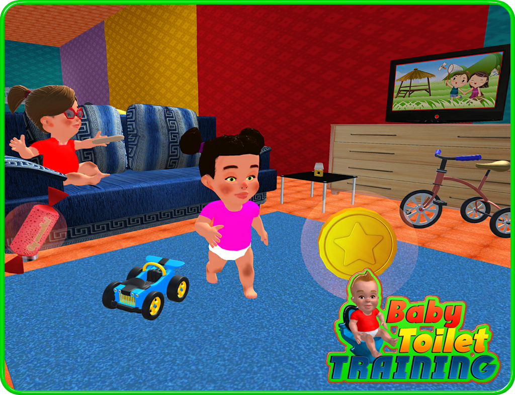 Baby Toilet Training Simulator Apl Android Di Google Play