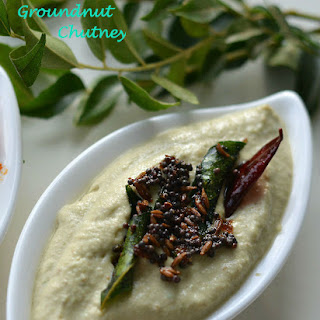 Peanut and Coconut chutney