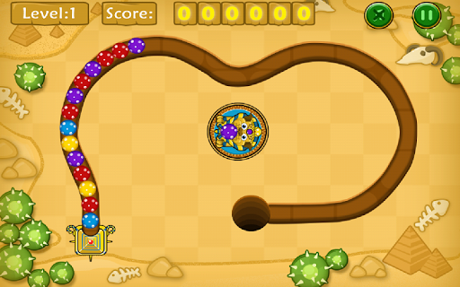 Jungle Marble Blast screenshot 3