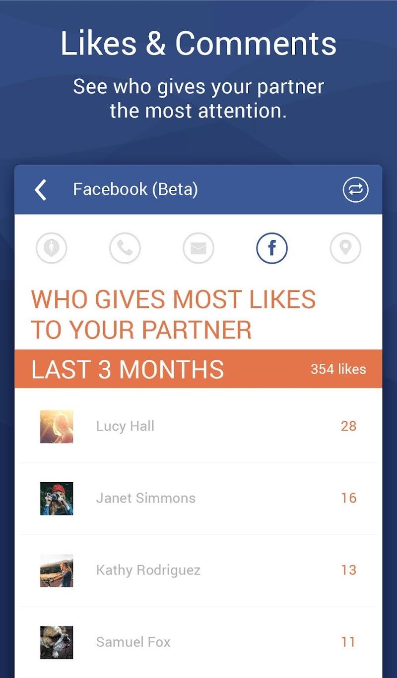 Couple Tracker Pro - Cell phone monitoring Screenshot 3