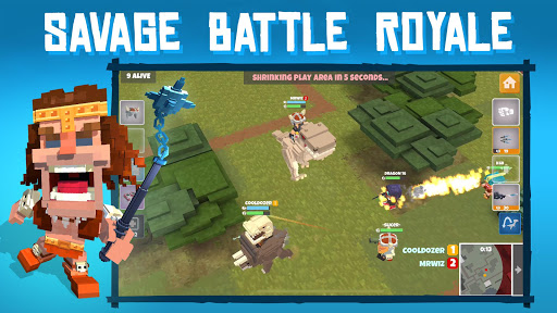 Dinos Royale - Savage Multiplayer Battle Royale 1.0 screenshots 1