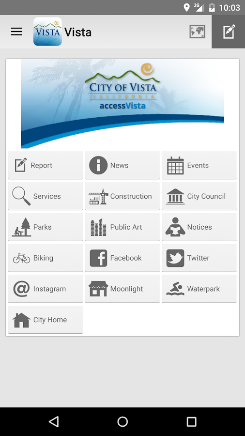 Access Vista- screenshot