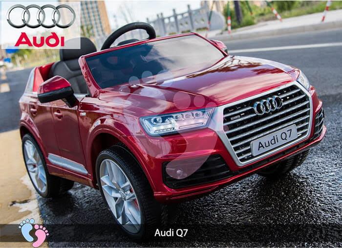 Oto điện Audi Q7 dành cho bé yêu 4