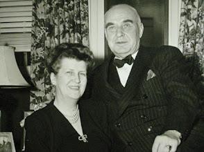Photo: O. Max Gardner and Fay Lamar Webb Garnder, the Mayflower Hotel, Washington, DC, 1946