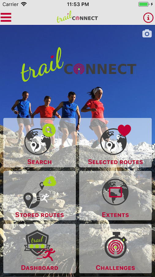 Trail Connect- screenshot