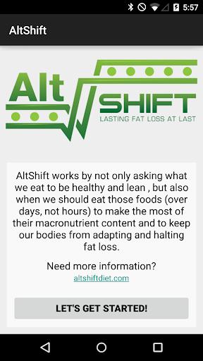 AltShift Shift Tracker
