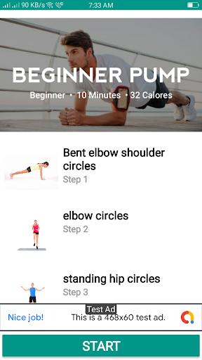 7M Workout Daily - Woman & Man screenshot 8