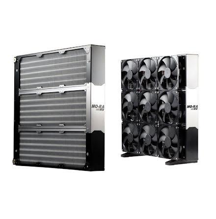 Watercool radiator, MO-RA3 420 LT black