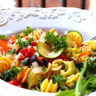 Lightened Italian Pasta Salad