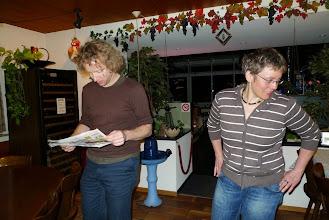 """Photo: Simon und Inama in der """"Beiz"""""""
