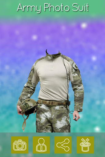 Army Photo Suit Maker