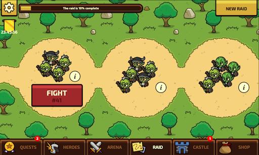 Raid Heroes: Total War apkpoly screenshots 2