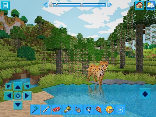 AdventureCraft: 3D Block Building & Survival Craft  screenshots 2