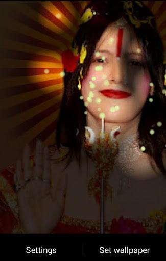 Radhe Maa Fireflies LWP