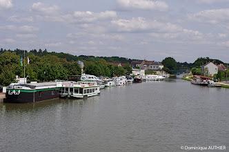 Photo: Port de commerce de Briare