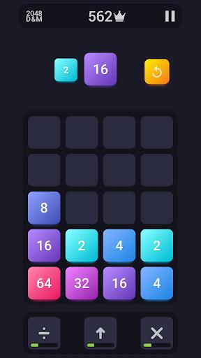 2048: Drop And Merge 1.1 screenshots 1