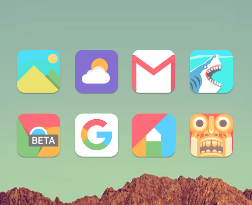 Mefon - Icon Pack 이미지[2]