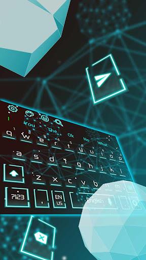 Geometry Art Keyboard Theme 10001001 screenshots 1