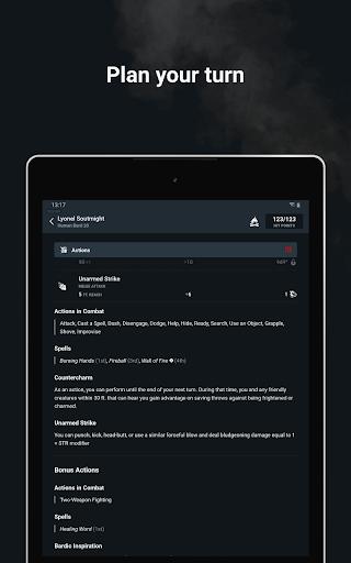 D&D Beyond Player Tools screenshot 12
