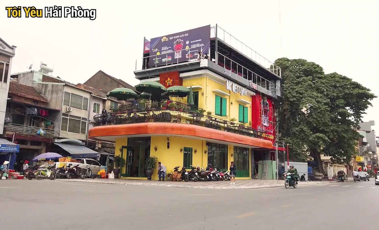 Cà phê view đẹp Bắc Việt phố đi bộ Tam Bạc ở Hải Phòng 2