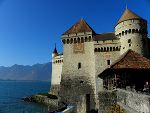 Photo: Chateaux Chillon, Switzerland
