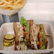 Roast Chicken B.L.T Sandwich