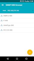Screenshot of SNMP MIB Browser