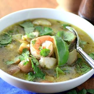 Peruvian Seafood Soup