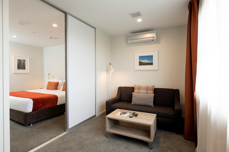 living space at Quest Taupo