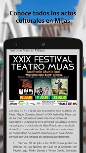 Mijas Cultura- screenshot thumbnail