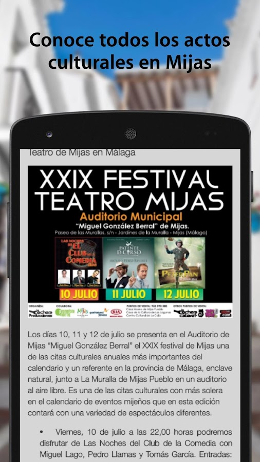 Mijas Cultura- screenshot