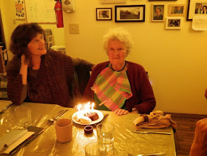 Photo: Gyandevi's birthday with Dana visiting