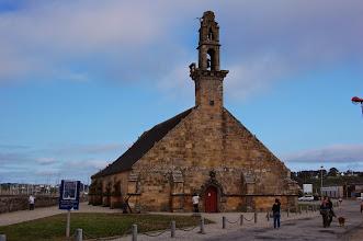 Photo: BRETANYA 2013. PRESQU'ÎLE DE CROZON ( Kraozon en bretó ). CAMARET-SUR-MER. Chapelle Notre Dame de Rocamadour