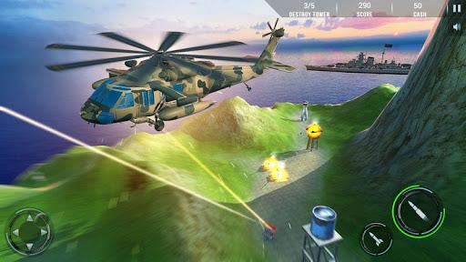 Helicopter Air Gunship : Modern War apktram screenshots 14