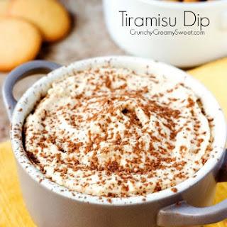 Tiramisu Dip Recipe Card