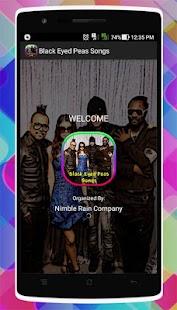 Black Eyed Peas Songs - náhled