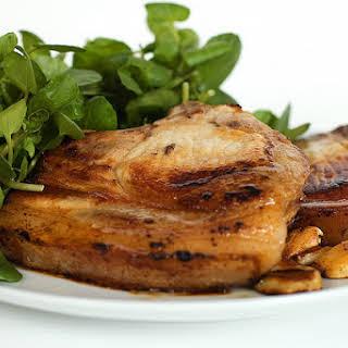 Oven-Baked Pork Chops.
