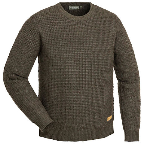 Pinewood Ralf Knitted Sweater Brown Melange