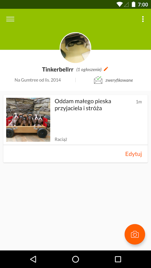 Gumtree Poland- screenshot