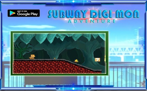 Subway Digi Mon Adventure - náhled