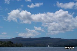 Photo: Sailing up the Tamar