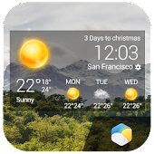 Minimal Weather Info widget