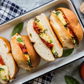 Zucchini Parmesan Sandwiches